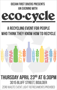 Eco-Cycle Event at Ocean First Divers